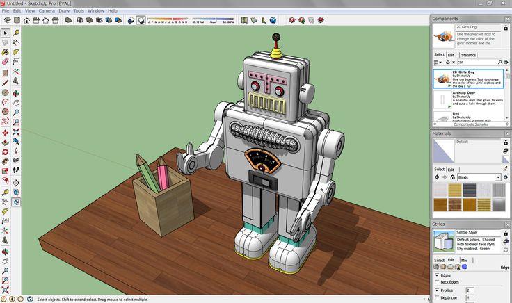 Após o sucesso da sua sextaedição em 2007, a Sketchup se tornou um dos softwares de modelagem 3D mais utilizados no mundo. Deve-se issoàs suas...