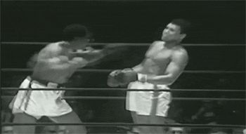 """""""His hands cant hit what his eyes cant see."""" – Muhammed Ali"""