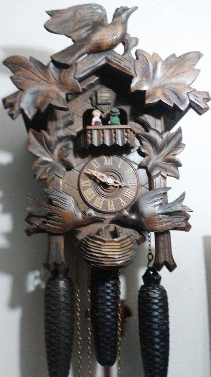 Reloj Cucu Musical 8 Dias