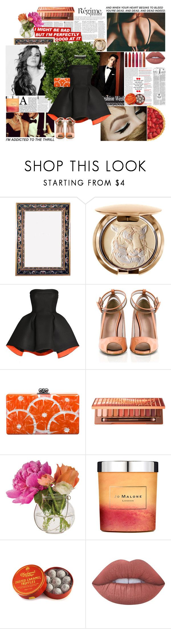 """you don't tell the truth, you like playing games"" by cataalix ❤ liked on Polyvore featuring Anja, J. Peterman, Chantecaille, KEEP ME, Parlor, Konstantina Tzovolou, Edie Parker, Urban Decay, Cultural Intrigue and Jo Malone"