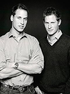 Prince William and Prince Harry- this is better than my N*Sync poster