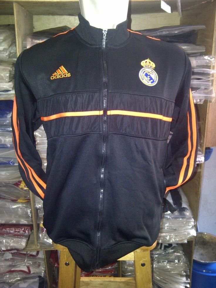 Jual Jaket Bola Real Madrid Terbaru Online. Tersedia berbagai koleksi Jaket klub Real Madrid terlengkap dengan bahan berkualitas harga murah dan original