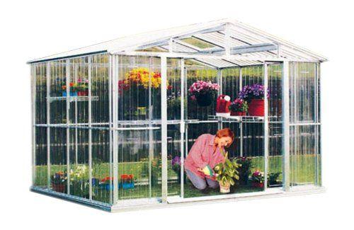 Amazon.com : DuraMax Model 80111 8x6 Stronglasting Polycarbonate Greenhouse : Patio, Lawn & Garden