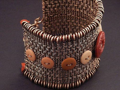 Basket Weaving Jewelry : Best images about wire weaving on copper