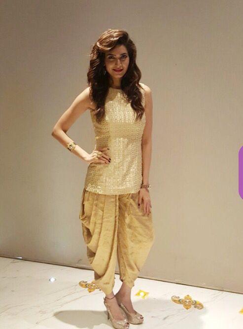 Dhoti style bottom wear