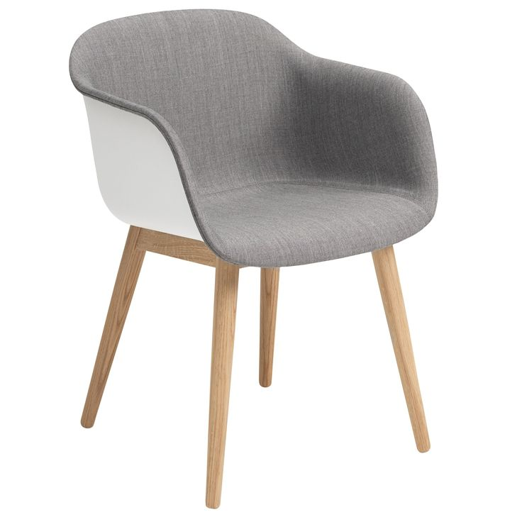 Fiber Wood Front Upholstery stoel | Muuto