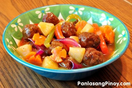 Need to know what to make with your IKEA Meatballs? We had this for dinner tonight and LOVED it! Sweet and Sour Ikea Meatballs. Will definitely make again.
