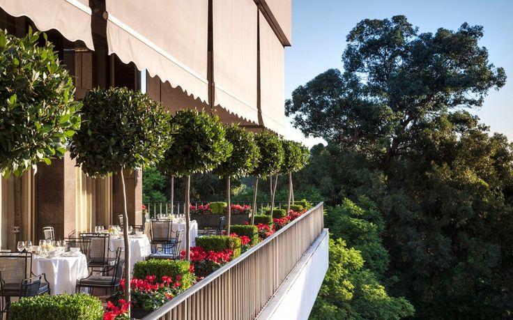 Four Seasons Hotel Ritz Lisbon, Varanda Terrace