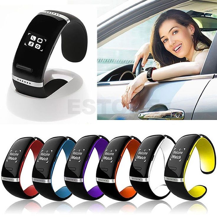 Bluetooth Wrist SMART Bracelet Watch Phone For IOS Android Samsung iPhone AP