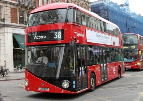Thomas Heatherwick's new bus for London.