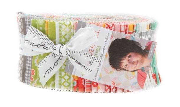 Jelly Roll of the Month Club  #quilting #spreadthelove #ruler #newstuff