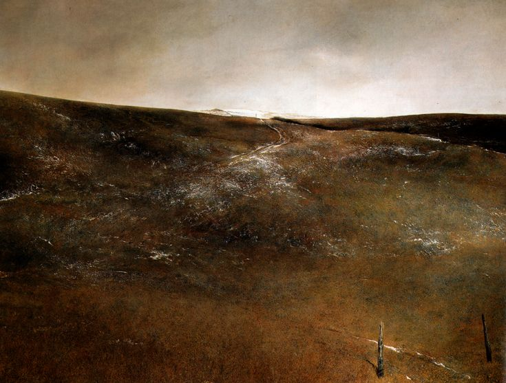 Snow Flurries-By Andrew Wyeth