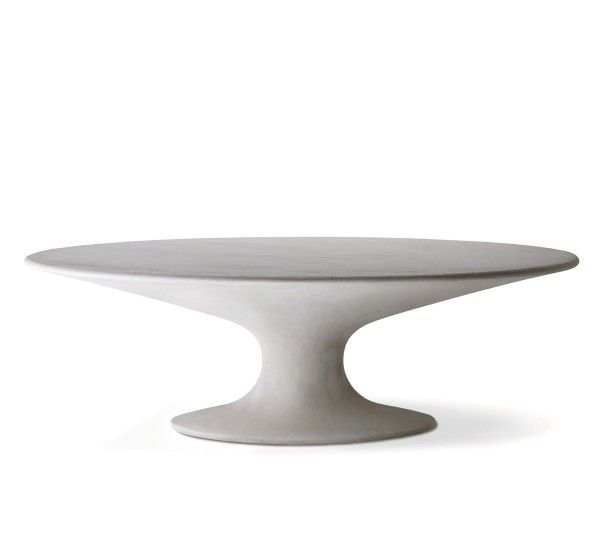 Fenice is an elegant table designed by Piero Bottoni for Zanotta. Frame in Polimex®, covered with acrylic finish cement with protective titanium dioxide nanotech stain-resistant treatment. Fenice comes with the unique white version.Fenice is a refined model, with oval top and central feet that lies on an oval symmetrical base. The two parts create a perspective play that gives elegance and agility to the structure. The white finish completes the design with a touch of glamour. Fenice is…