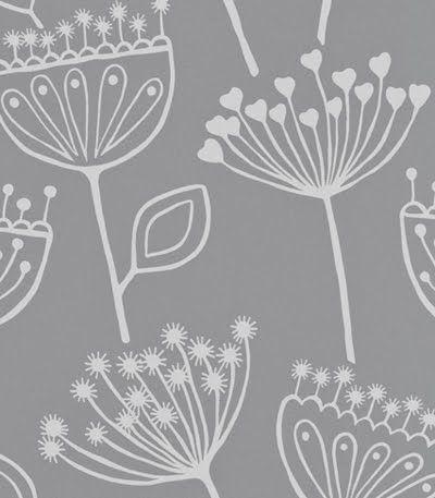 print & pattern features- villa nova wallpaper
