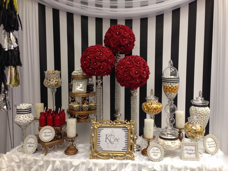 Custom Candy Buffet By KCee's Candy Buffets