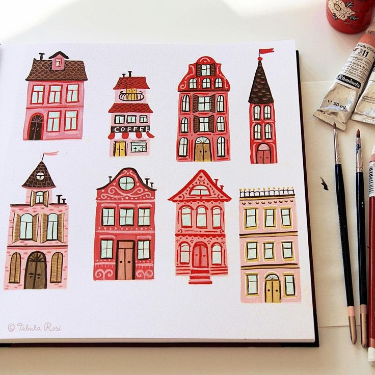 Illustrated homes