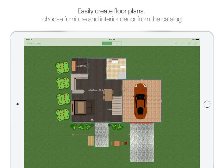 Create A Floor Plan In 2D On Your IPad.