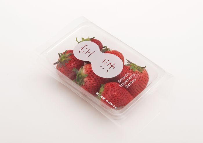 Sorauki strawberry #packaging PD