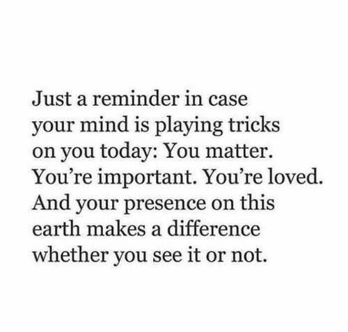 Just a reminder.