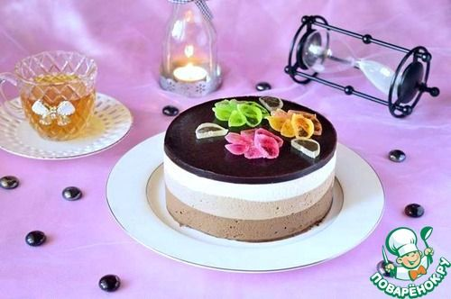 "Торт ""Три шоколада"" - кулинарный рецепт"