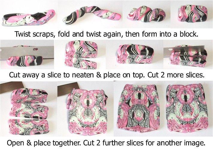 Using scrap clay - Birdy Heywood: Clay Ideas, Polim Fimo Clay, Kinda Clay, Clay Fantasy, Clay Pretty, Clay Tutorials, Clay Techniques, Clay Crafts, Natasha Beads