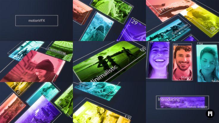 Modular Slideshow APPLE MOTION TEMPLATE arrived - http://www.motionvfx.com/N2247  #AppleMotion #FCPX #FinalCutProX #VideoEditing #Apple #Motion5