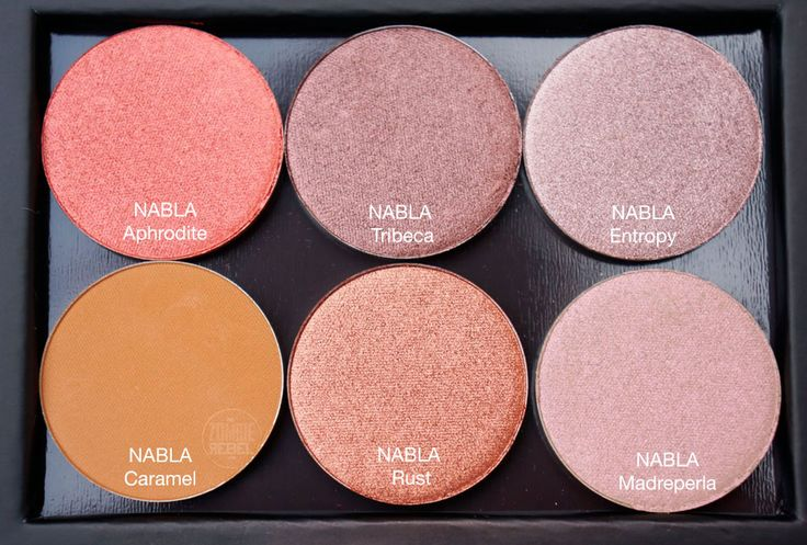Mordisqueando a NABLA Cosmetics | The Zombie Rebel