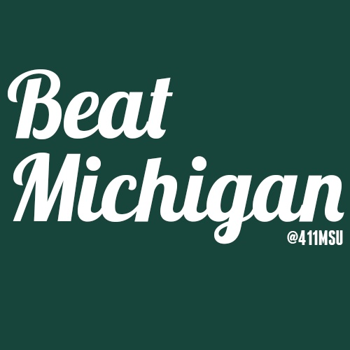 Ready to destroy Michigan tomorrow? #MSU #Spartans #basketball