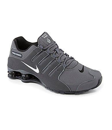 Nike Mens Shox NZ Running Shoes #Dillards