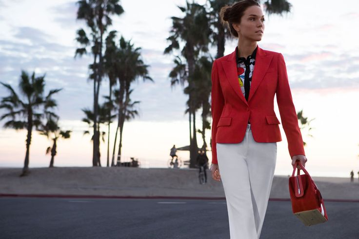Fay City Diaries: an endless adventure in Los Angeles. Women's Spring - Summer 2014 Blazer.