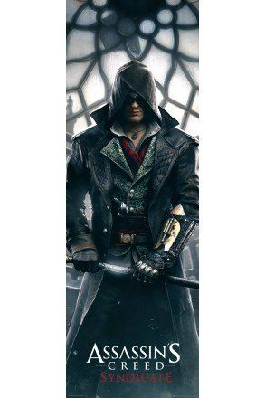 Assassins Creed Syndicate Big Ben Door Poster
