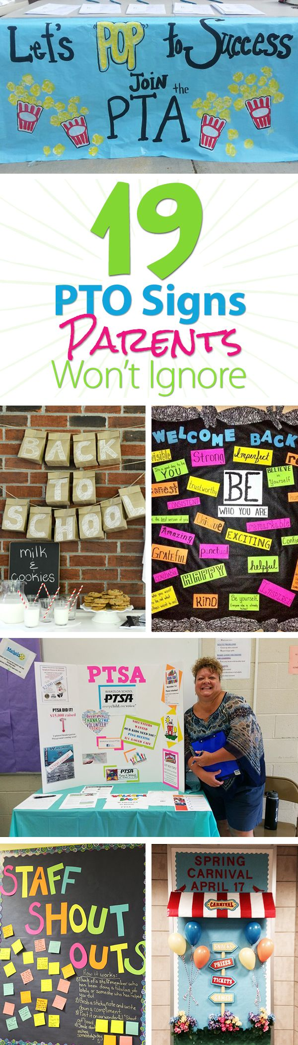19 Easy to Make PTO Signs That Parents Will