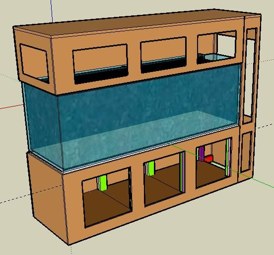 Diy aquarium stand woodworking projects plans for Aquarium fish calculator