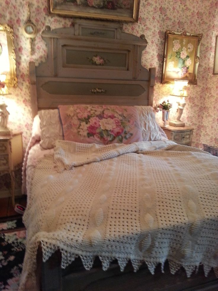 Corrabelle Rose Antique Bedding Shabby Bedroom Shabby
