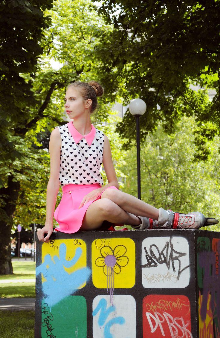foto <Klaudia Toruń> model <Ania Krawczak> help <Kasia Pawłowska>