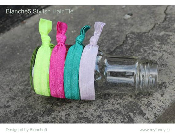 Stylish Hair Tie by Myfunny on Etsy, $5.15
