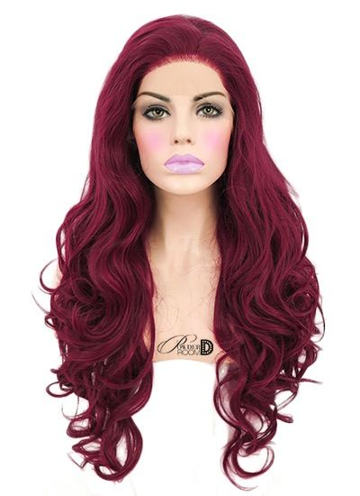 Image of Frosted Cranberry Lace Front Wig