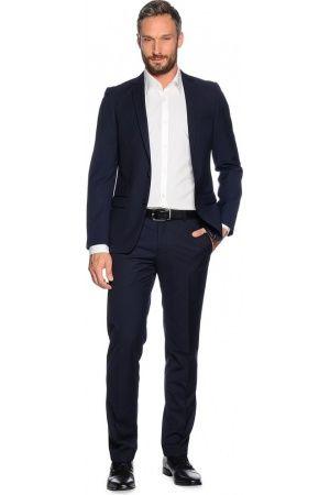 Heren kostuums - Mishumo Karl, Slim Fit marineblauw