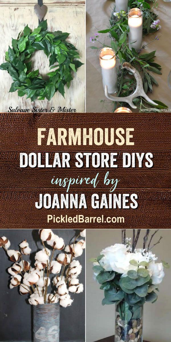 Farmhouse Dollar Store DIY Decorations