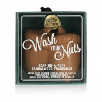 HELLO HANDSOME WASH YOUR NUTS SOAP