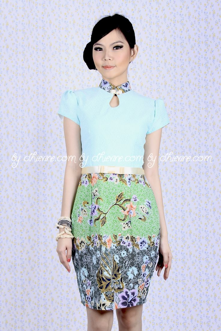 Batik Dress | Lace Dress | Dress Kebaya | Daisy Dress | DhieVine | Redefine You
