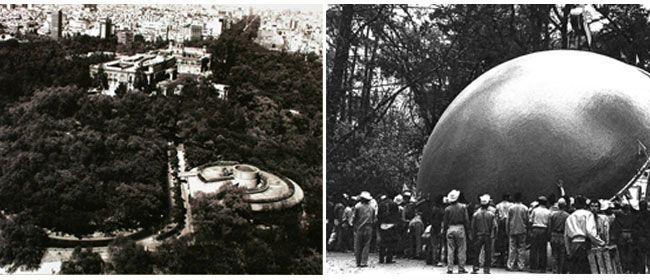 Las imágenes son testimonios del primer museo moderno de México. Foto Fondo Pedro Ramírez Vázquez. Museo del Caracol, INAH.