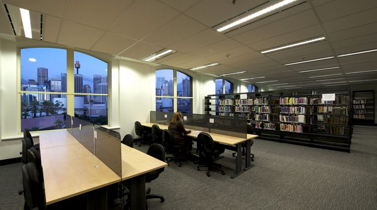 melbourne school college fitout Library