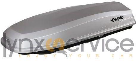 FARAD - BOX/BAULE AUTO 490lt F7 N10 GRIGIO