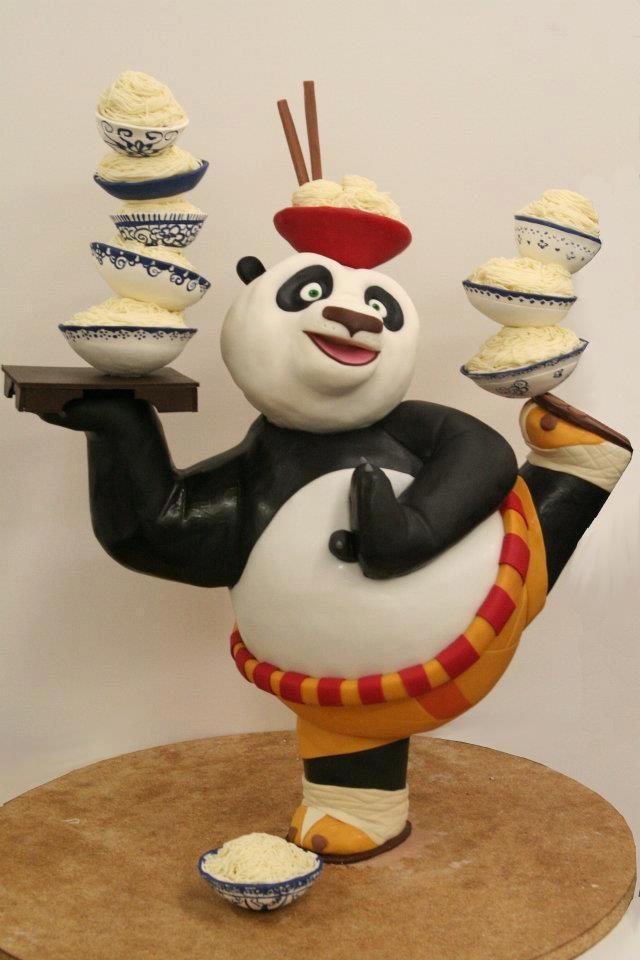 How To Make Kung Fu Panda Cake Topper