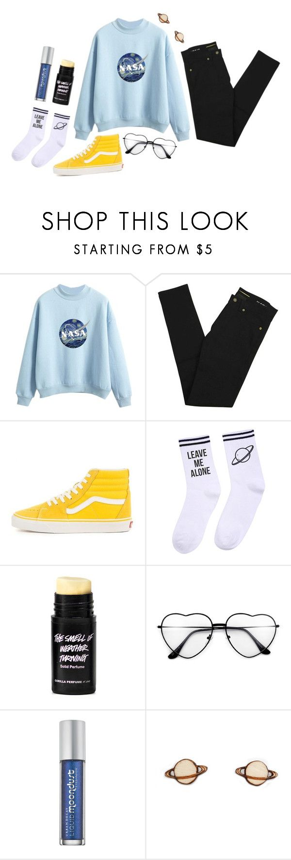 """yo it's nick crompton and my collar stay poppin', yes I can rap and no I'm not from Compton"" by kiryn-watson on Polyvore featuring Yves Saint Laurent, Yeah Bunny and Urban Decay"
