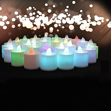 Decorate your wedding with this beautiful LED candles! Like the idea? Click to get a set <3
