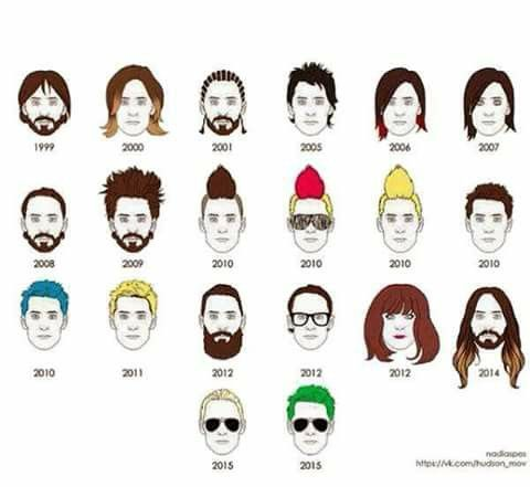 Jared Leto's hairs