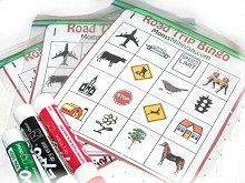 Free Car Bingo cards printable
