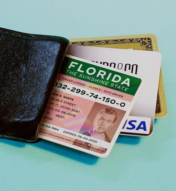Miami Graphic Designer Suggests How to Fix Florida's Hideous New Driver's License http://www.miaminewtimes.com/arts/florida-dmv-releases-new-license-miami-designer-re-visualizes-it-9557421